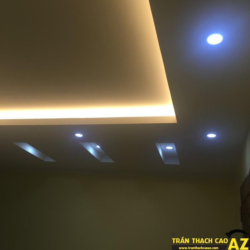 Trần thạch cao nhà chú Tiến khu biệt thự nhà vườn 4 – KĐT Yên Xá 05