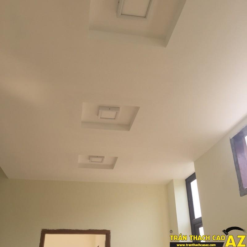 Hoàn thiện trần thạch cao nhà anh Côi kđt Vân Canh 05