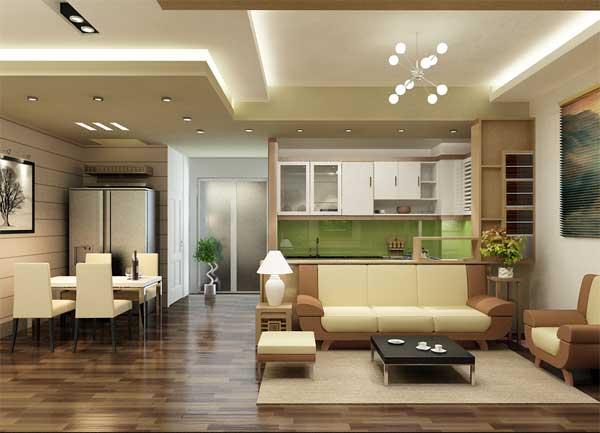 Trần thạch cao chung cư giá rẻ - Lựa chọn của nhiều gia đình