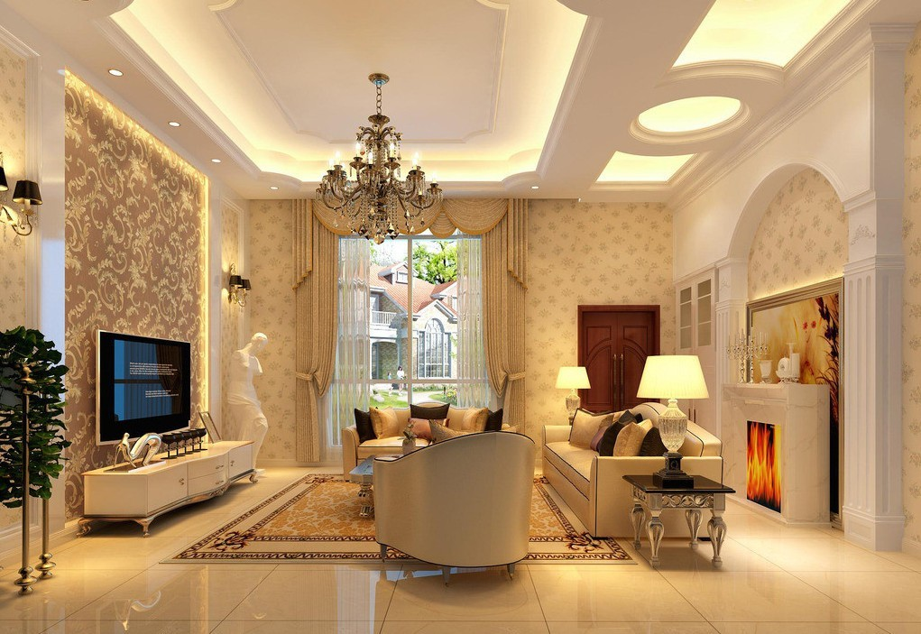 Ceiling-design-living-room