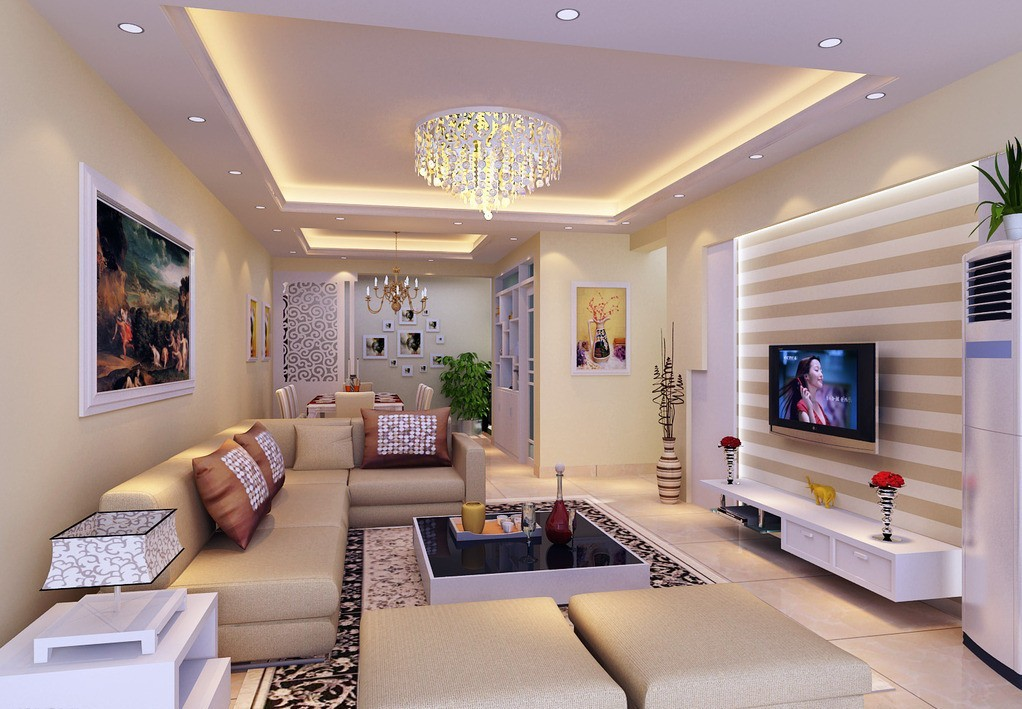 Interior-ceiling-design-living-room