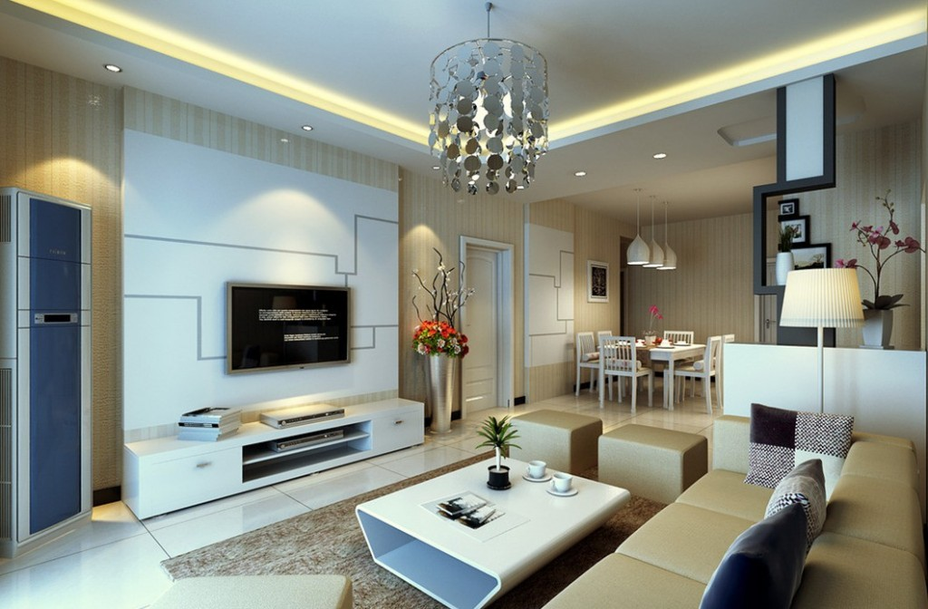 Living-dining-room-lighting-design
