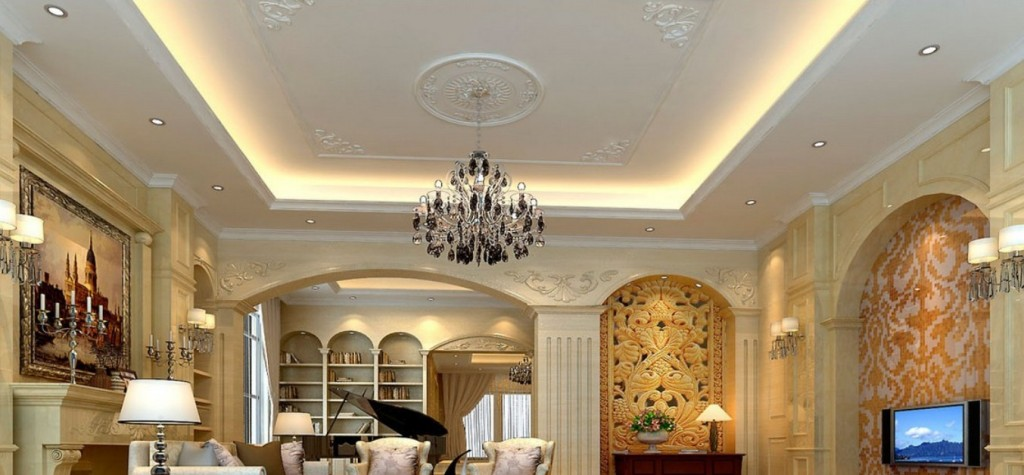 Living-room-wall-design-rendering-of-neo-classical-villa