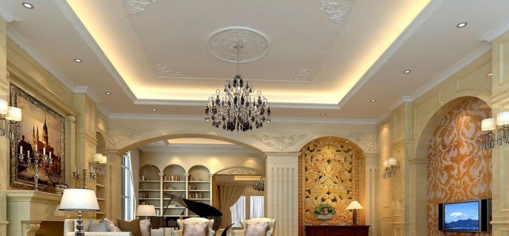 Living-room-wall-design-rendering-of-neo-classical-villa