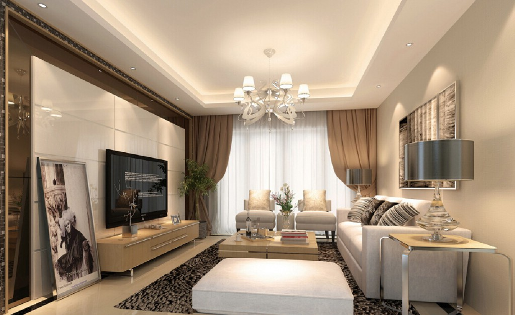 Sitting-room-in-simple-European-style