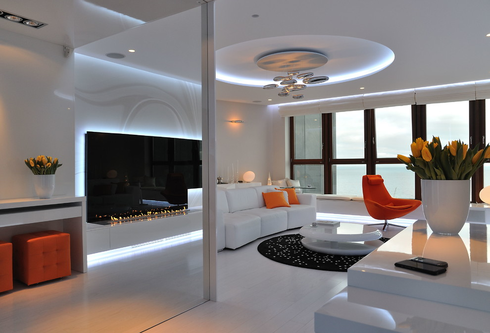 Winsome-Plaster-Ceiling-house-designs-Modern-Living-Room-Other-Metro