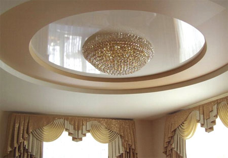 round-PVC-stretch-ceiling-for-classic-luxury-living-room