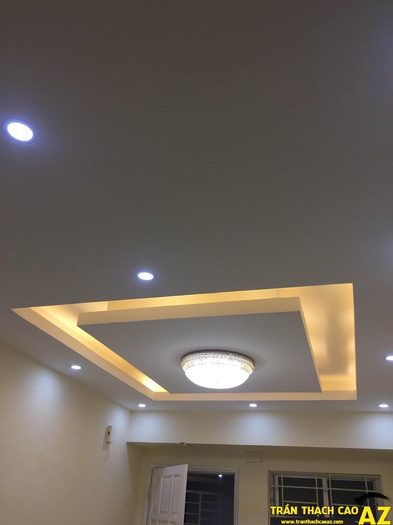 Trần thạch cao do công ty trần thạch cao az thi công tại chung cư Bắc hà, Trung Văn Hà Nội