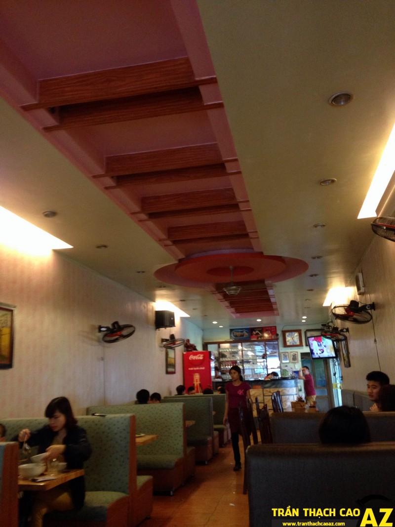 trần thạch cao quán bờm 161 Nguyễn Văn Trỗi, Phủ Lý, Hà Nam _ 03