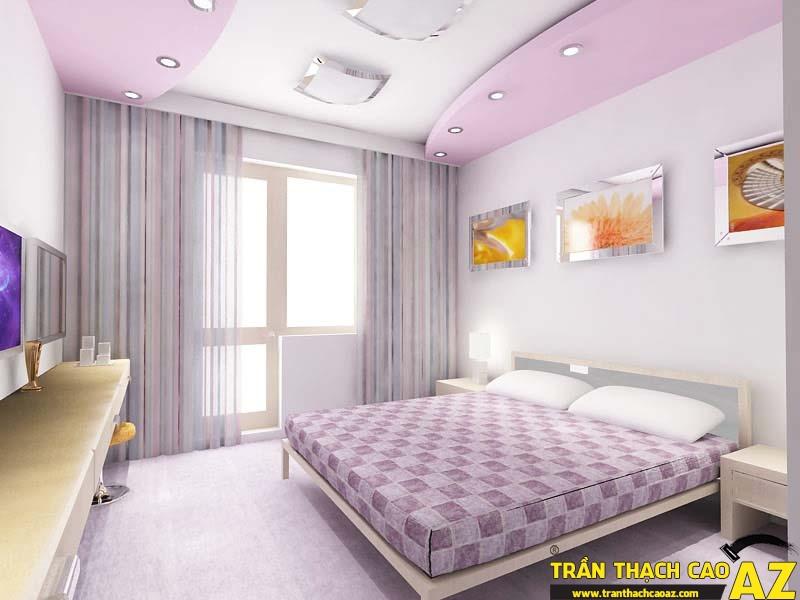 Mẫu trần thạch cao phòng ngủ đẹp -03