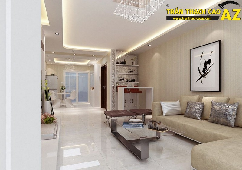 Trần thạch cao cho không gian nhà đẹp hoàn hảo