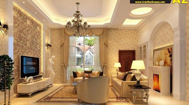 3 lưu ý để có không gian nội thất hoàn hảo với trần thạch cao - 01