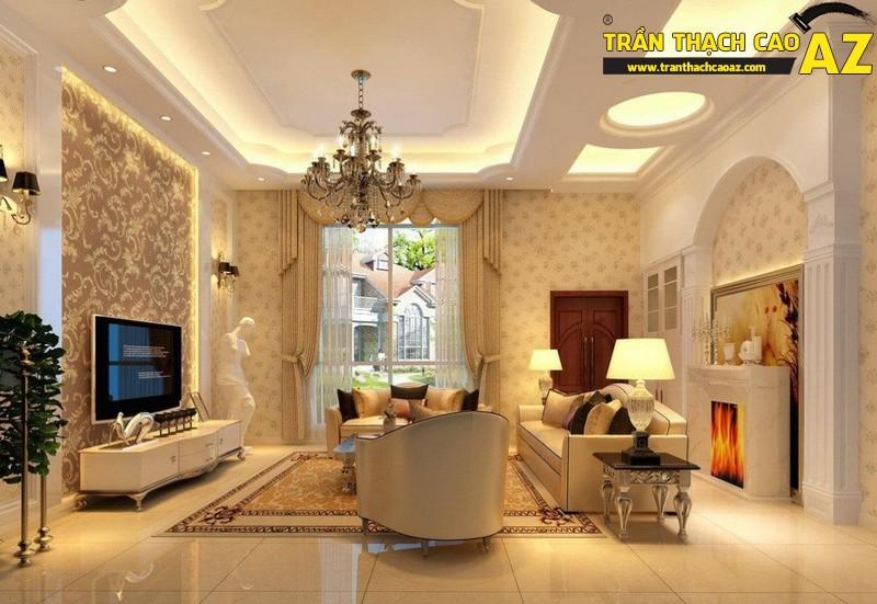 3 lưu ý để có không gian nội thất hoàn hảo với trần thạch cao - 02