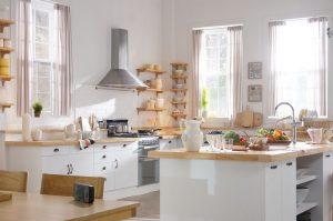 Chút biến tấu giúp gian bếp trở nên hiện đại, sang trọng, thời thượng
