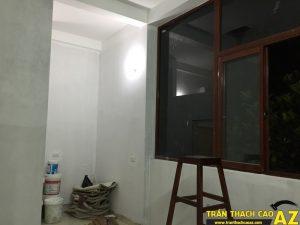 Hoàn thiện lớp sơn lót nhà anh Nhuận số 7, ngõ Đình Đông, Bạch Mai