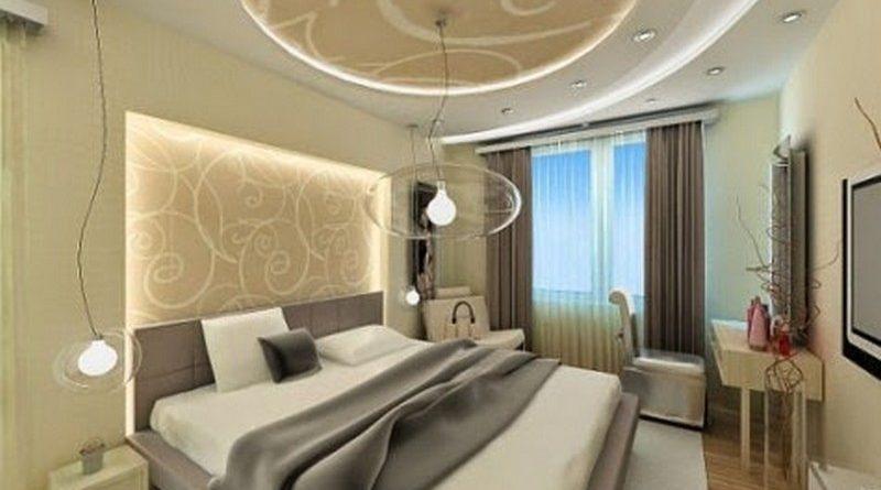 Trần thạch cao phòng ngủ đẹp - 05