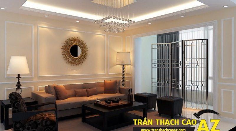 Mẹo giúp bạn sở hữu phòng khách đẹp hơn cả ý muốn với trần thạch cao