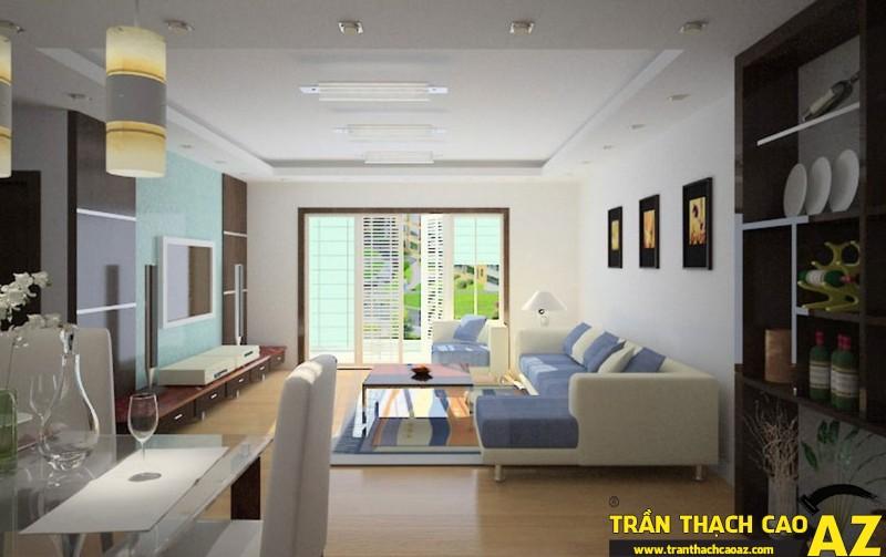 Thiết kế trần thạch cao hiện đại dành riêng cho kiến trúc Việt Nam 02