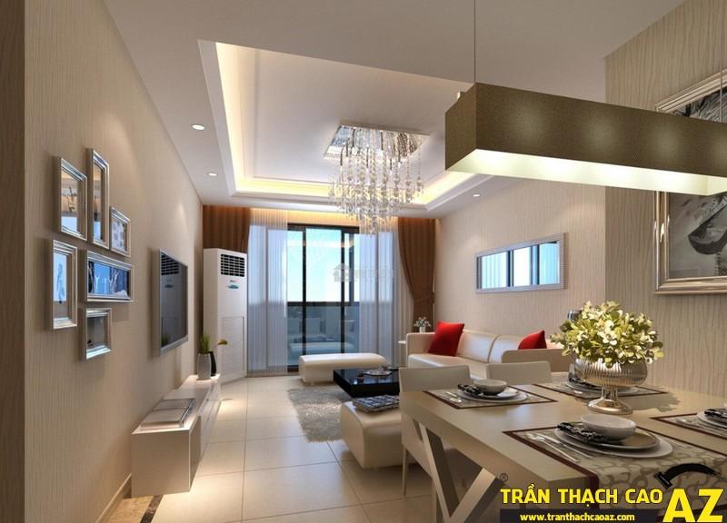 Thiết kế trần thạch cao hiện đại dành riêng cho kiến trúc Việt Nam 06