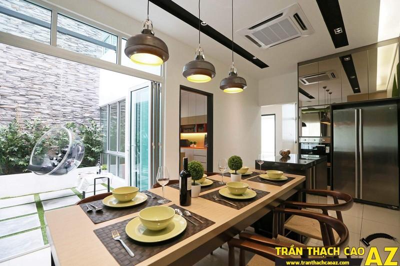 Thiết kế trần thạch cao hiện đại dành riêng cho kiến trúc Việt Nam 15