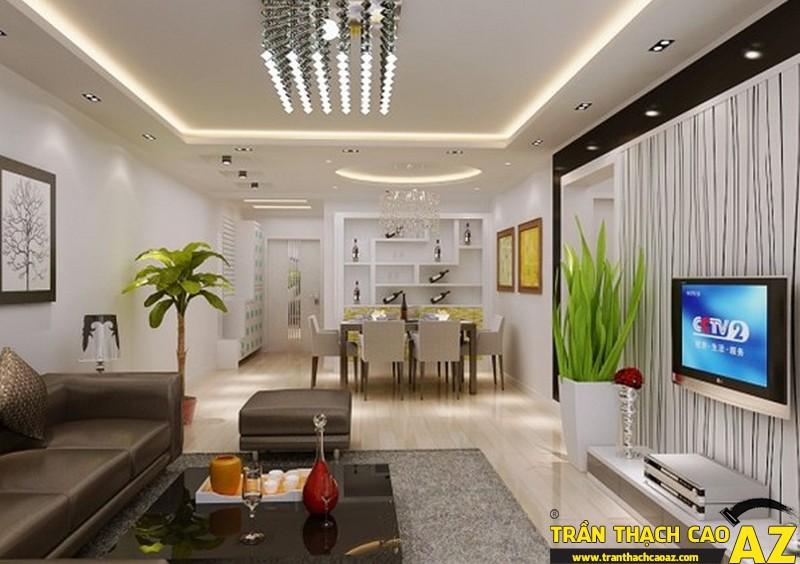 Trần thạch cao mang đến giải pháp nhà đẹp, tiết kiệm chi phí