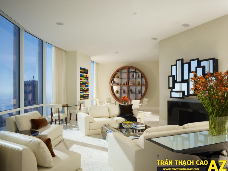 Trần thạch cao tạo không gian đẹp cho ngôi nhà của bạn
