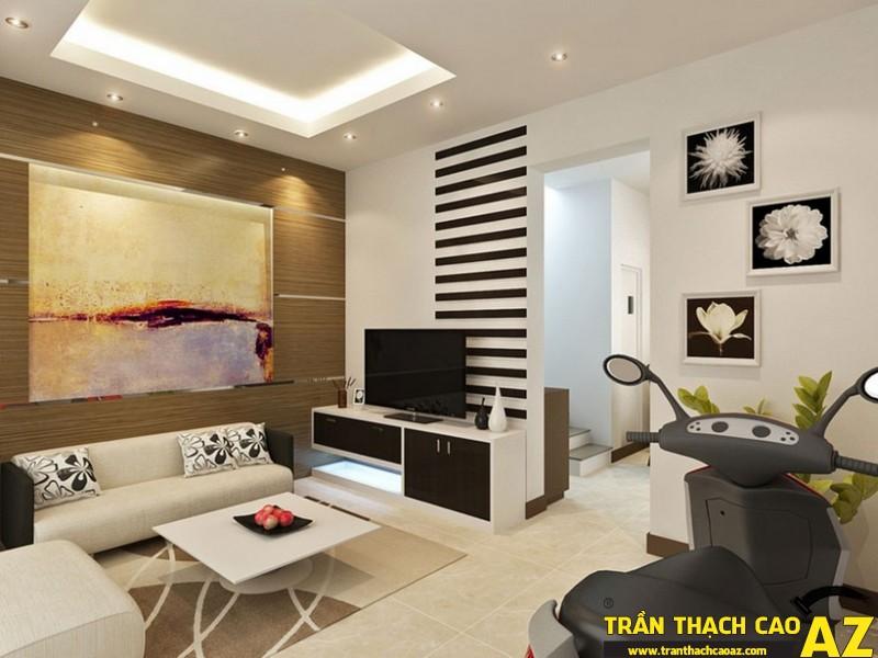 Trần thạch cao tạo không gian xanh, sạch đẹp cho các ngôi nhà