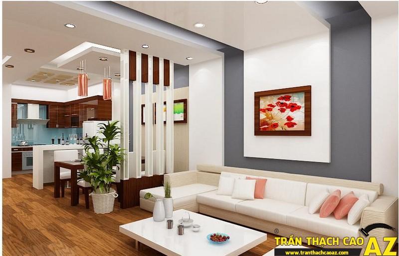 Trần thạch cao - giải pháp chống ồn hiệu quả đối với nhà chung cư 02