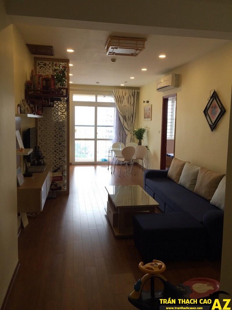 Trần thạch cao được công ty thi công tại nhà chị Thu, Mỹ Đình, Hà Nội