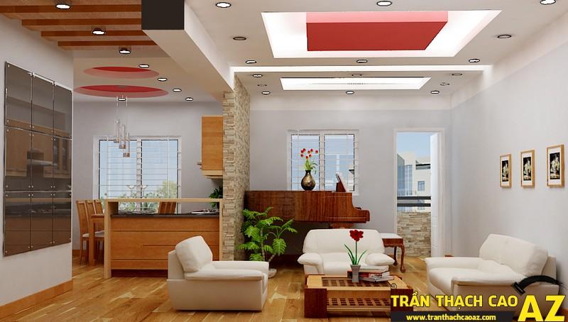 Trần thạch cao - giải pháp chống ồn hiệu quả đối với nhà chung cư 01