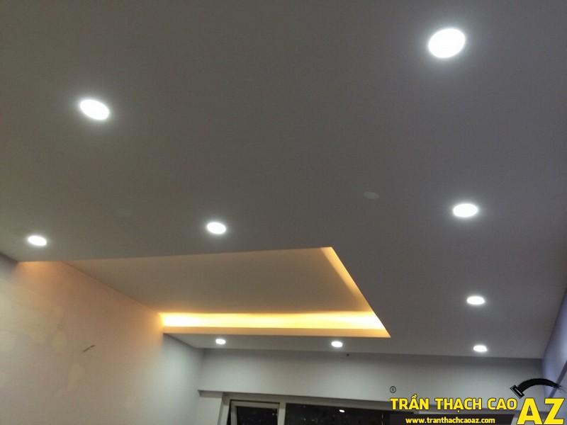 Trần thạch cao nhà anh Dũng, Hà Nội được thi công bởi công ty trần thạch cao AZ