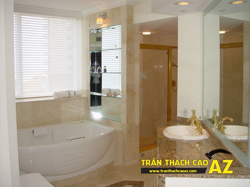 Trần thạch cao chịu nước - sự lựa chọn hoàn hảo dành cho phòng tắm 02