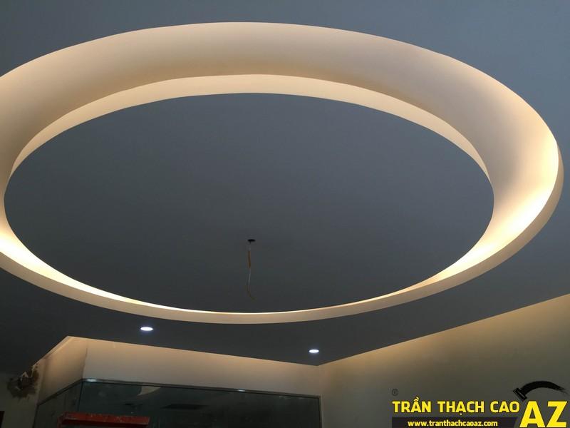 Thi công trần thạch cao nhà chị Trang 01