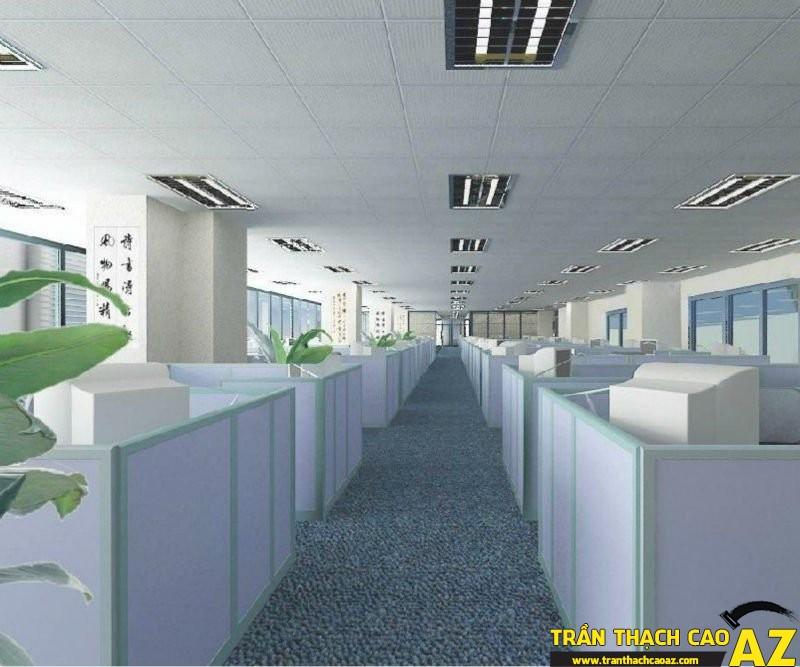 Trần thạch cao nổi - sự lựa chọn hoàn hảo dành cho thiết kế văn phòng 01