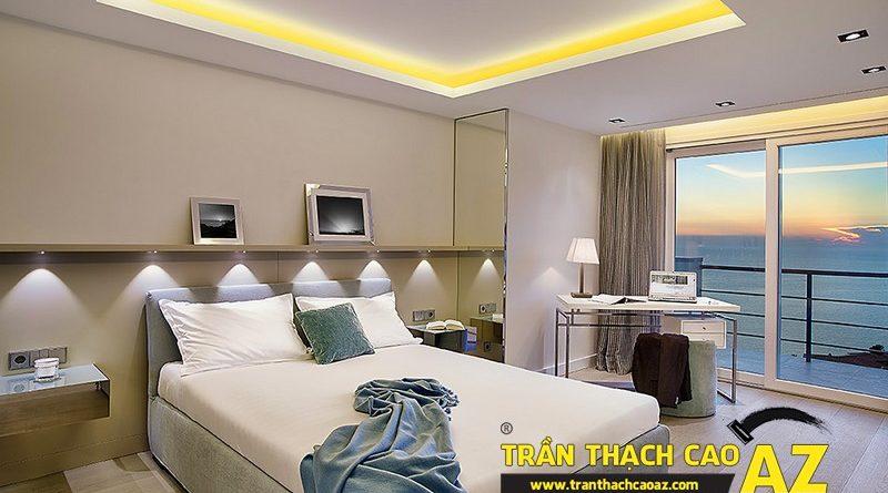 Trần thạch cao sự lựa chọn tối ưu trong thiết kế phòng ngủ