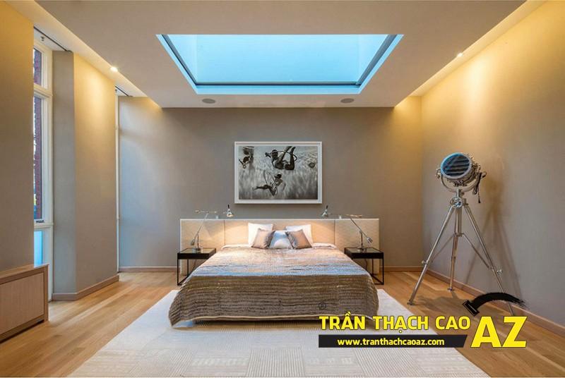 Trần thạch cao sự lựa chọn tối ưu trong thiết kế phòng ngủ 01