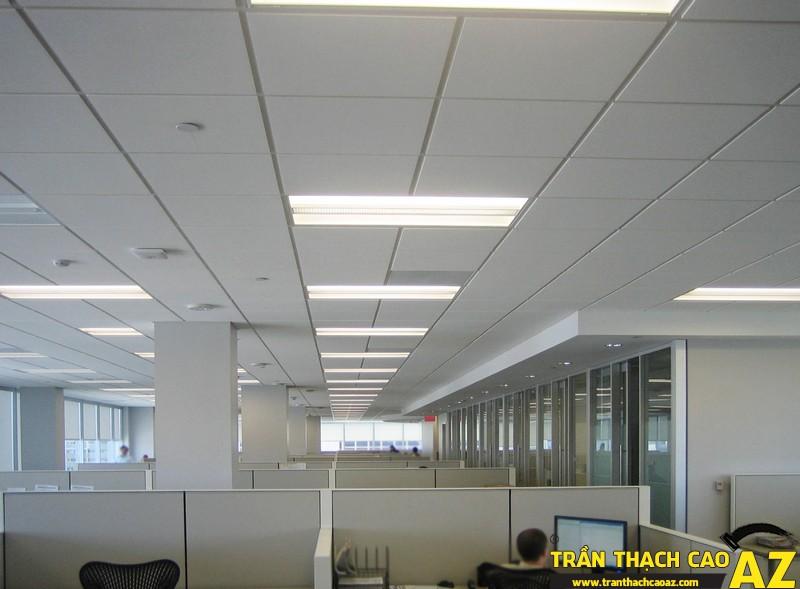 Trần thạch cao thả - Lựa chọn phù hợp nhất cho văn phòng