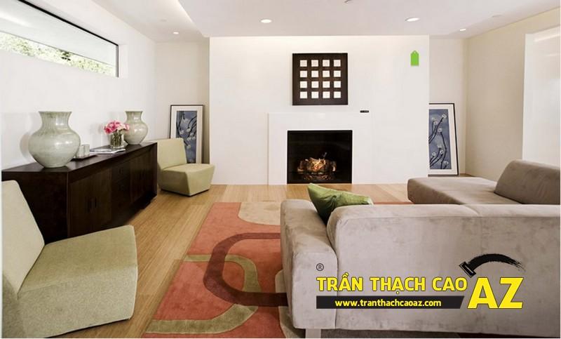 Những nguyên tắc cơ bản khi chọn mẫu trần thạch cao phòng khách 03