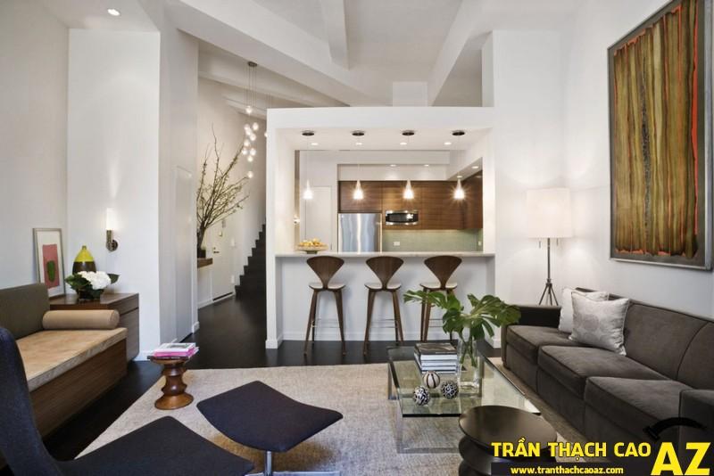 Những mẫu trần thạch cao phòng khách đẹp nhất hiện nay 02