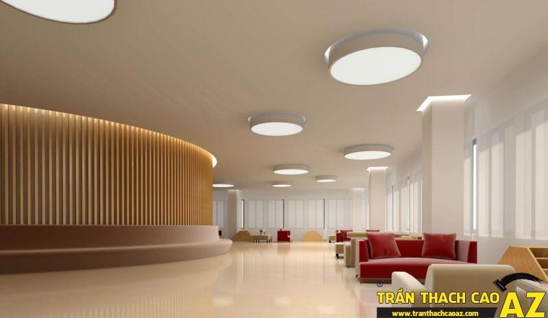 """Những ưu điểm """"trên cả tuyệt vời"""" của thiết kế trần thạch cao văn phòng 03"""