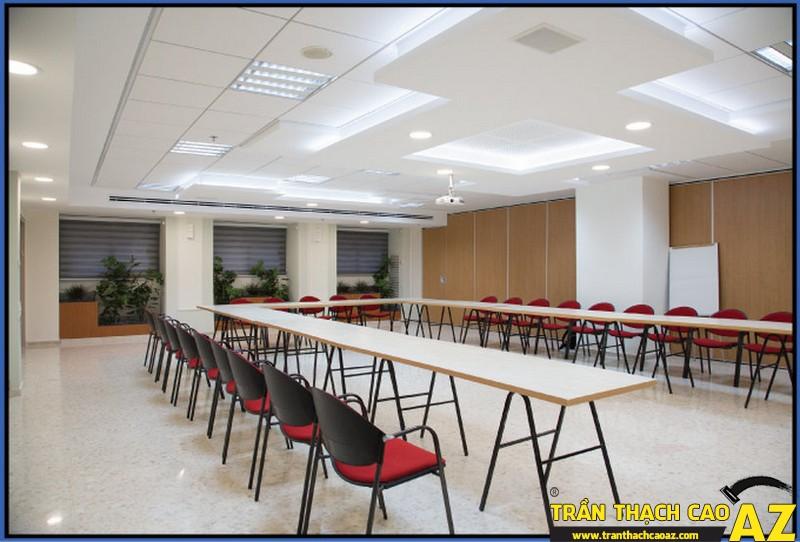"""Những ưu điểm """"trên cả tuyệt vời"""" của thiết kế trần thạch cao văn phòng 01"""