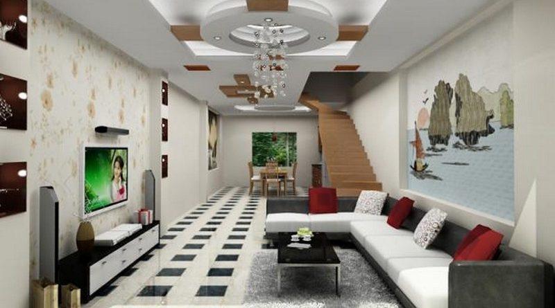 Trần thạch cao cho không gian nội thất đẹp, đồng bộ