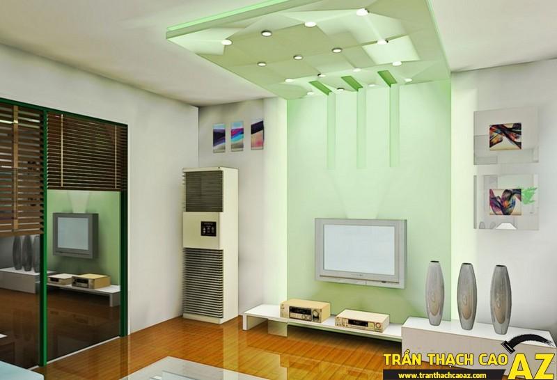 Trần thạch cao - xu hướng mới trong thiết kế nội thất