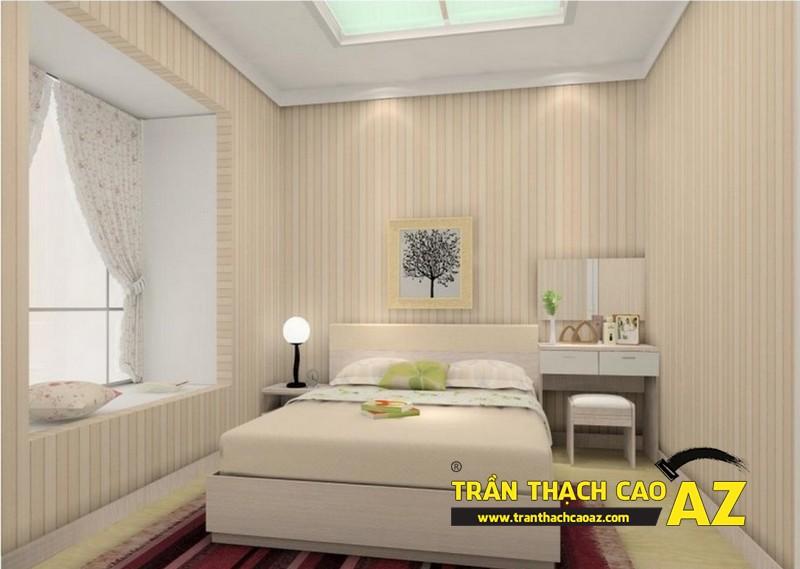 Lựa chọn kiểu trần thạch cao phòng ngủ phù hợp với không gian vốn có