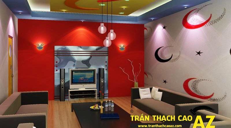 AZ - đơn vị thi công trần thạch cao phòng karaoke uy tín, giá rẻ tại Hà Nội