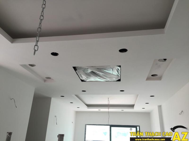 Thi công hoàn thiện trần thạch cao nhà anh Lâm P.16A01, Toà Golden West 06