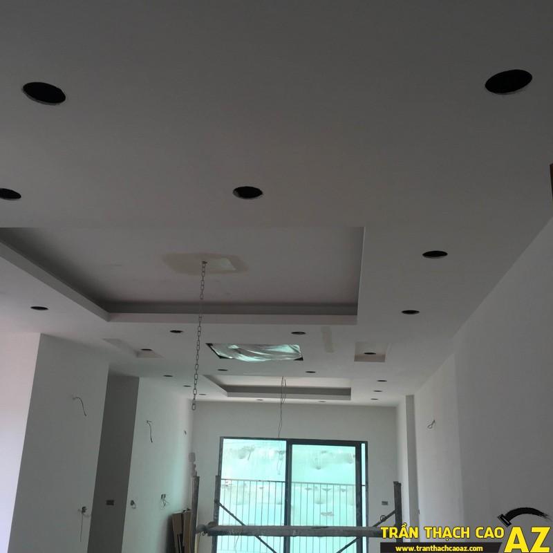 Thi công hoàn thiện trần thạch cao nhà anh Lâm P.16A01, Toà Goldden West 08