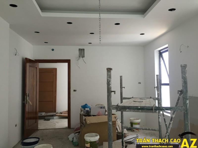 Thi công hoàn thiện trần thạch cao nhà anh Lâm P.16A01, Toà Goldden West 03