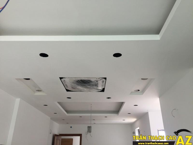 Thi công hoàn thiện trần thạch cao nhà anh Lâm P.16A01, Toà Golden West 04