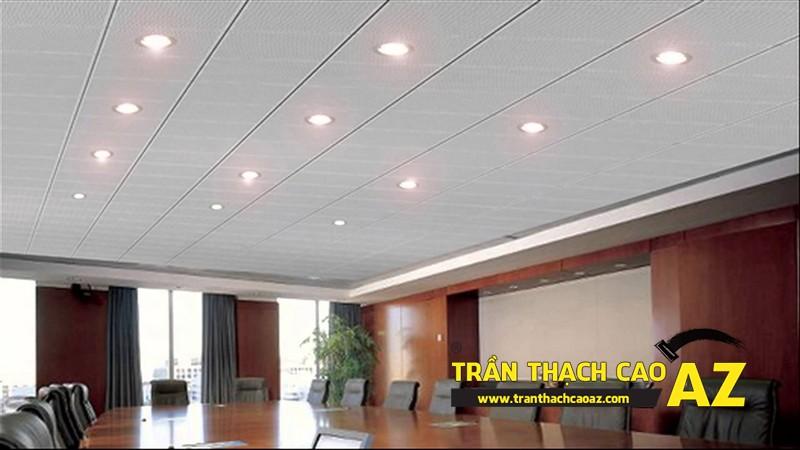 Trần thạch cao văn phòng, giải pháp chống ồn hiệu quả